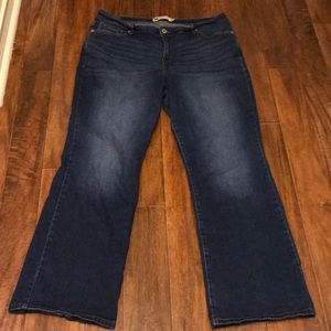 Levi's 580 Boot Cut Jeans - 18W
